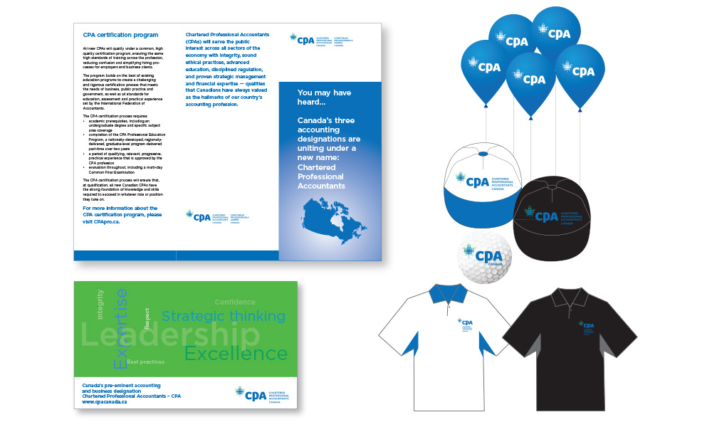 Member brochure and collateral materials